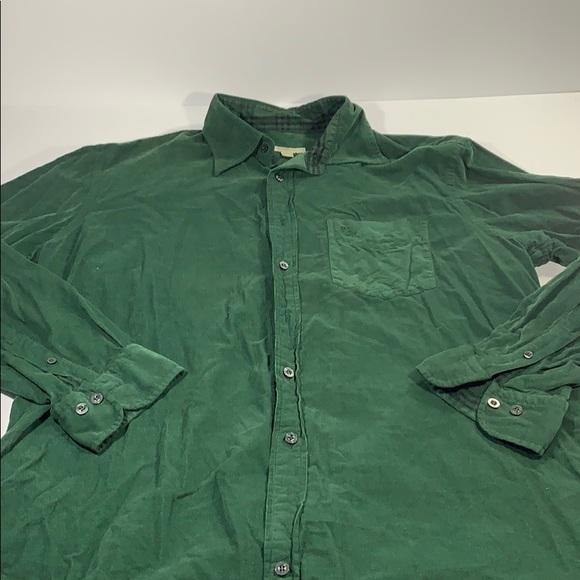 Polo Ralph Lauren Camel Corduroy Cotton Button Down Long Sleeve Shirt XL NWT NEW